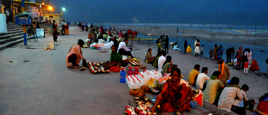 Triveni Ghat | Triveni Ghat in Rishikesh
